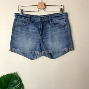 J. Crew | Denim Short in Liza Wash Cuffed Size 27